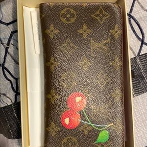 (Authentic) Louis Vuitton Cerise's Cherry Wallet